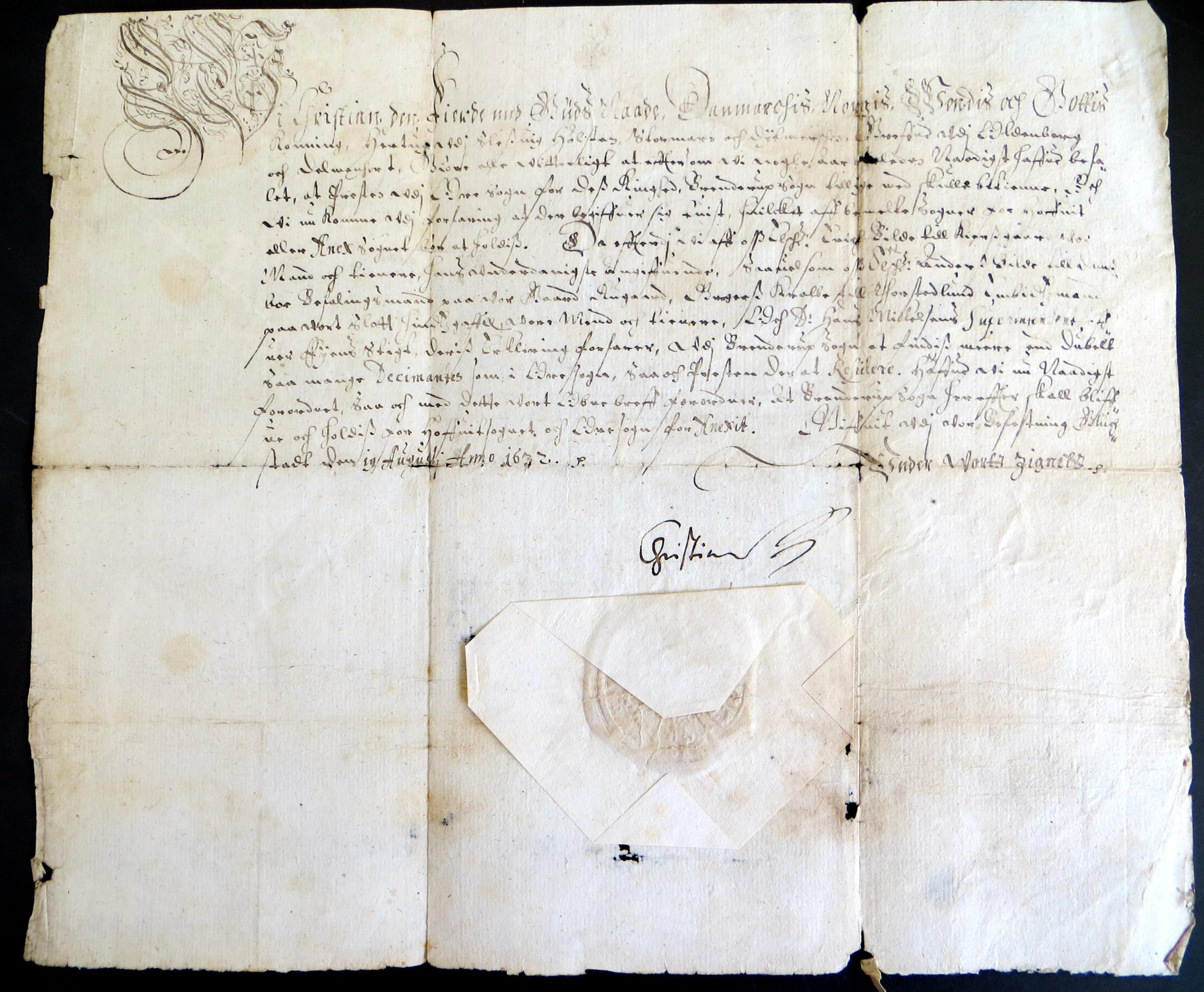 Danske Kancellis Brevbøger og en sognestrid fra 1600-tallet
