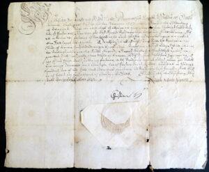 Kgl brev, Brenderup skal være anneks til Ore, 1632, Rigsarkivet