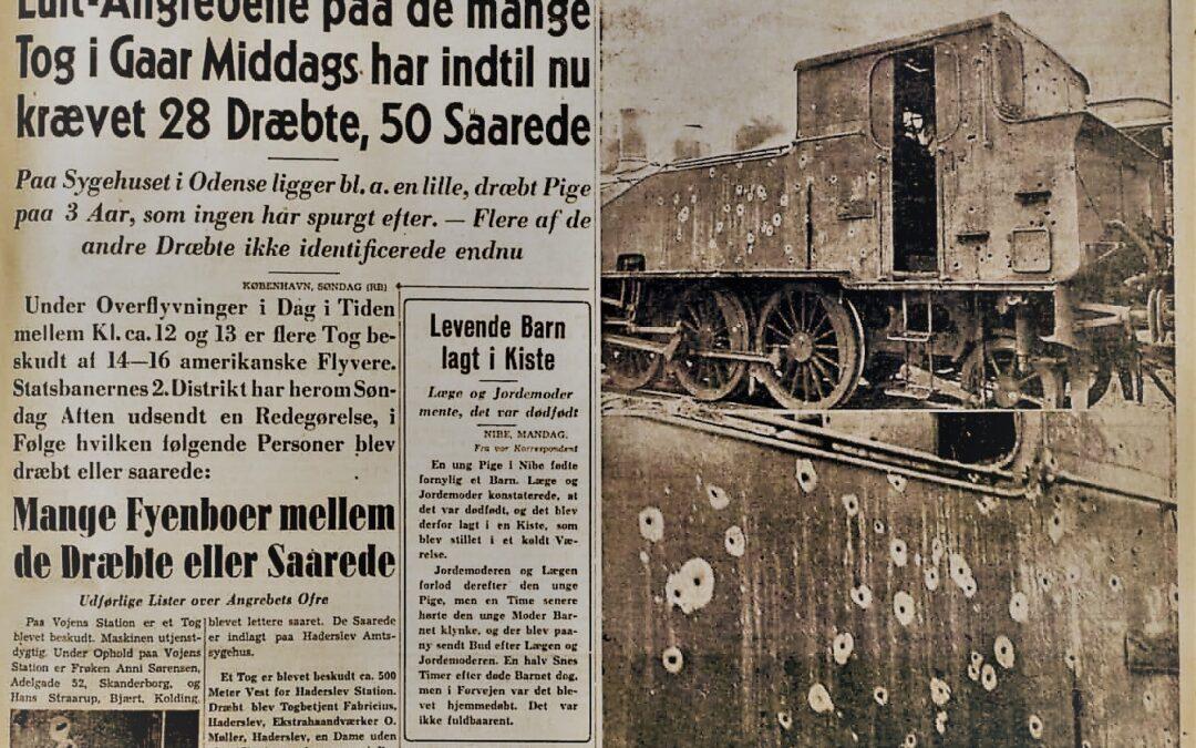 Fyens Stiftstidende 8. januar 1945.