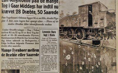 En kugle i ryggen – bombningen af fynske og sønderjyske passagertog 7. januar 1945